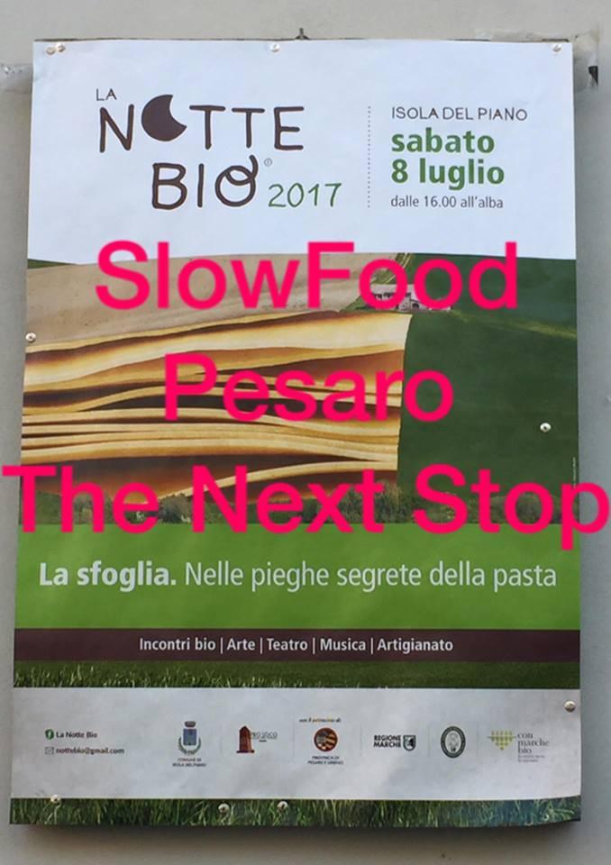 NOTTE BIO SLOW FOOD PESARO